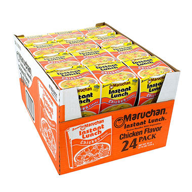 Maruchan Instant Lunch Chicken Flavor - 2.25 oz. - 24 ct.