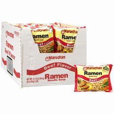 Maruchan Ramen Noodle Soup, Beef flavor (36/3oz.)