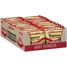 Maruchan Ramen Noodle Soup Beef - 24/3 oz.