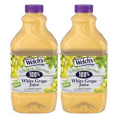 Welch's 100% White Grape Juice (64 oz., 2 pk.)