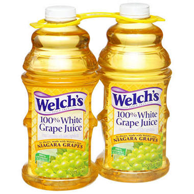 Welch's 100% White Grape Juice - 2/64 oz.