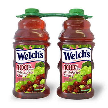Welch's� 100% White Grape Cherry Juice - 64 oz. - 2 ct.