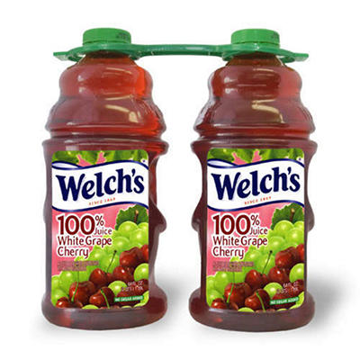 Welch's® 100% White Grape Cherry Juice - 64 oz. - 2 ct.