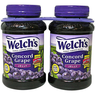 Welch's� Concord Grape Jelly - 2/32 oz. jars
