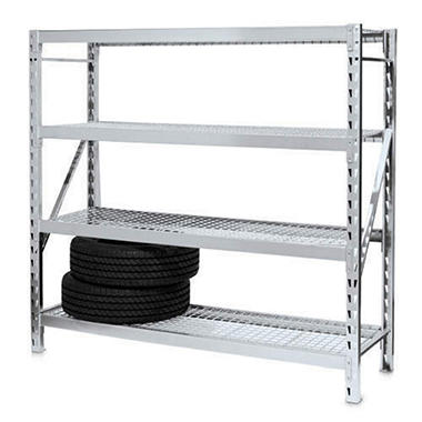 4-Shelf Storage Rack
