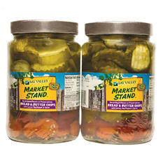Market Stand Bread & Butter Pickle Chips (25 oz., 2 pk.)