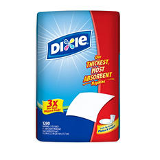 """Dixie - Paper Napkin - 11.4"""" x 12.5"""" - 1,200 pk."""
