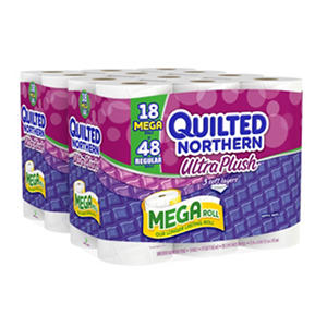 Quilted Northern Ultra Plush Bathroom Tissue, 3-Ply (235 Sheets, 36 Mega Rolls)