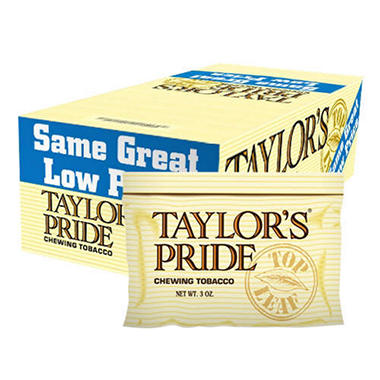 Taylor's Pride Chewing Tobacco - 12 / 3 oz.