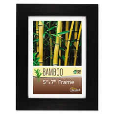 Nu-Dell - Bamboo Frame, 5 x 7 -  Black
