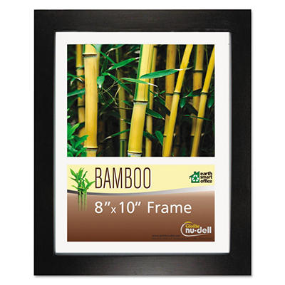 Nu-Dell - Bamboo Frame, 8 x 10 -  Black