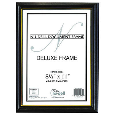Nu-Dell Deluxe Document Frame