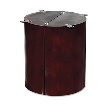 Alera Verona Series Column Base - Mahogany