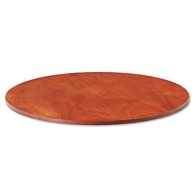 Alera Verona Series Round Meeting Table Top - Cherry