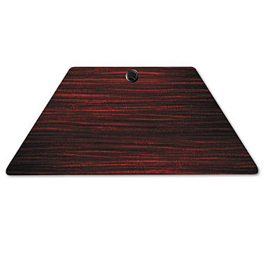 Alera Valencia Series Table Top - Mahogany