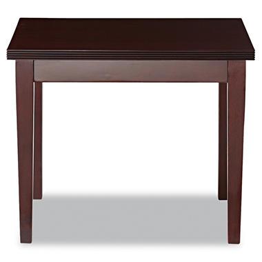 Alera Verona Series Occasional Table -  Mahogany
