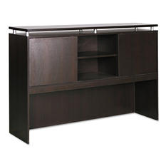 "Alera 66"" SedinaAG Series Hutch With Sliding Doors, Select Color"