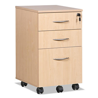 Alera - SedinaAG Series Mobile Box/File Pedestal, 15-5/8