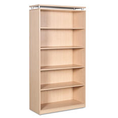 "Alera 72"" 5-Shelf SedinaAG Series Bookcase, Select Color"