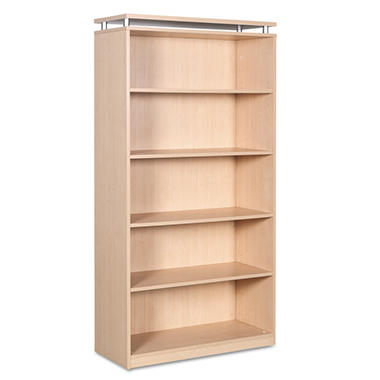 Alera SedinaAG Series Bookcase - 5 Shelves - Maple