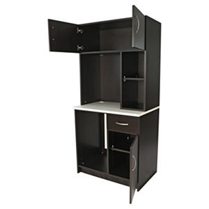 "Alera Plus 36"" Hospitality Hutch, Gray"