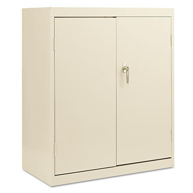 "Alera - Economy Assembled Storage Cabinet, 42"" High - Putty"