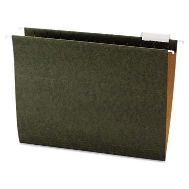 Office Impressions - Hanging File Folders, 1/5 Tab - 25 Pack