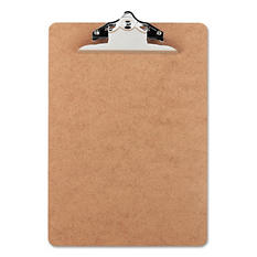 Office Impressions - Hardboard Clipboard - Brown