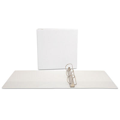 "Office Impressions - Economy View Binder, D-Ring, 2"" - White"