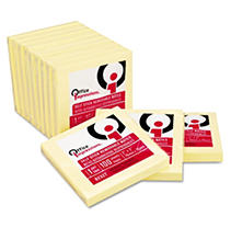 Office Impressions 3x3 Yellow Self-Stick Notes - 100-Sh Pds/Pk