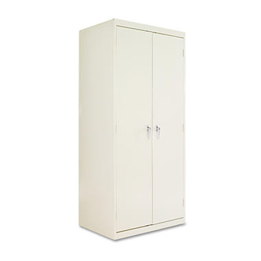 "Alera - Assembled Welded Storage Cabinet, 24"" - Putty"