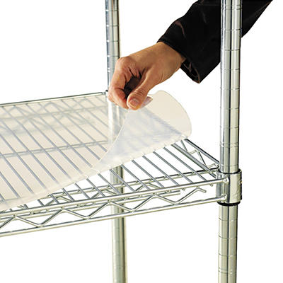 "Alera - Shelf Liners for Wire Shelving Units, 36 x 18"" - 4 Pack"