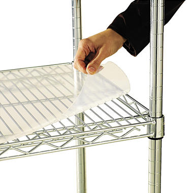 "Alera - Shelf Liners for Wire Shelving Units, 48 x 18"" - 4 Pack"