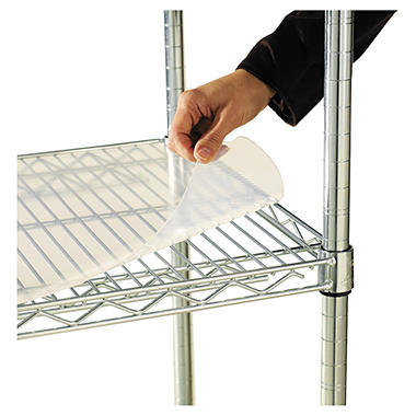 "Alera - Shelf Liners for Wire Shelving Units, 36 x 24"" - 4 Pack"