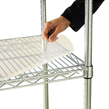 "Alera - Shelf Liners for Wire Shelving Units, 48 x 24"" - 4 Pack"
