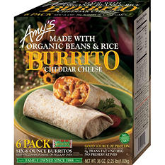 Amy's Kitchen Bean & Rice Burrito (36 oz., 6 pk.)
