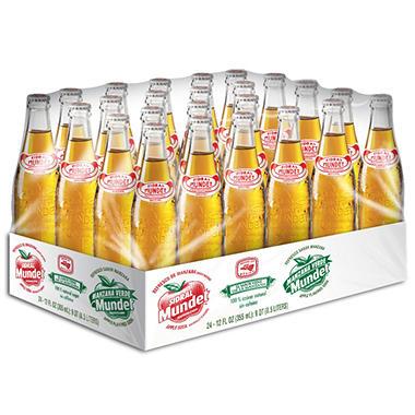 Sidral Mundet - 12 oz. Glass Bottles - 24 pk.