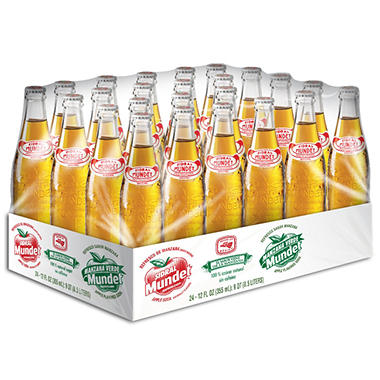 Sidral Mundet (12 oz. glass bottles, 24 pk.)