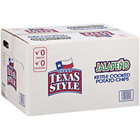 Bob's Texas Style Jalapeño Kettle Cooked Potato Chips 1 oz. (72 ct.)