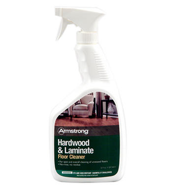 Armstrong Hardwood and Laminate Floor Cleaner 32 oz Spray Bottle