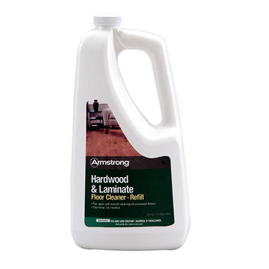 Armstrong Hardwood and Laminate Floor Cleaner Refill Bottle - 64 oz.