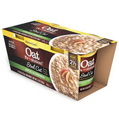 Better Oats Steel Cut Oatmeal Cups, Apples & Cinnamon (6 pk. 2 ct.)