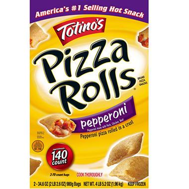 Totino's® Pepperoni Pizza Rolls® - 2/34.6 oz. Bags