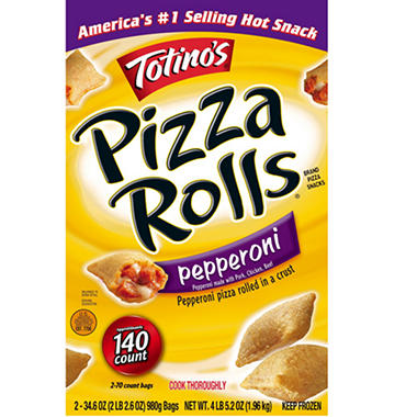 Totino's� Pepperoni Pizza Rolls� - 2/34.6 oz. Bags