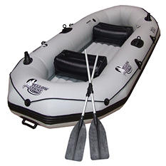 "Nash Inflatable Boat - 117"" x 50"" x 18"""