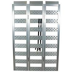 "Highland Tri-fold Aluminum Utility Ramp - 45"" x 69"" - 1,600 lb. Capacity"