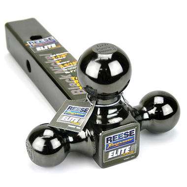 REESE® Towpower Elite Black Nickel Tri-Ball Ball Mount
