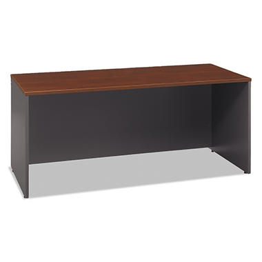 "Bush - 72""W Credenza Shell Series C - Hansen Cherry/Graphite Gray"