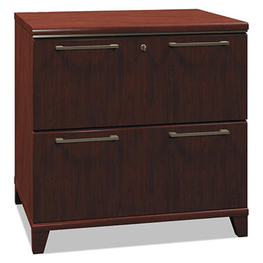 "Bush - Lateral File Enterprise, 2-Drawer, 30"" Width - Harvest Cherry"