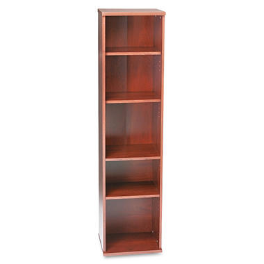 Bush - Series C Open Single Bookcase - Natural Cherry